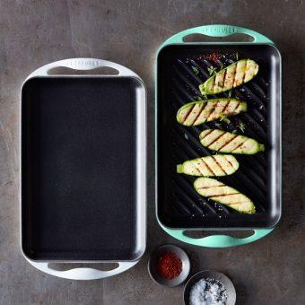le creuset enameled cast iron rectangular skinny grill c Gia Dụng Đức Sài Gòn