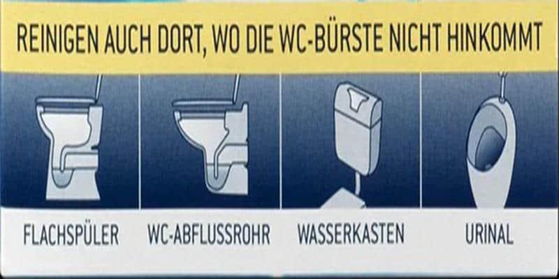 Viên Tẩy Bồn Cầu Denkmit WC-Tabs