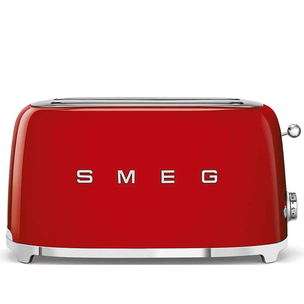 Máy Nướng Bánh Mì SMEG TSF02RDEU Red