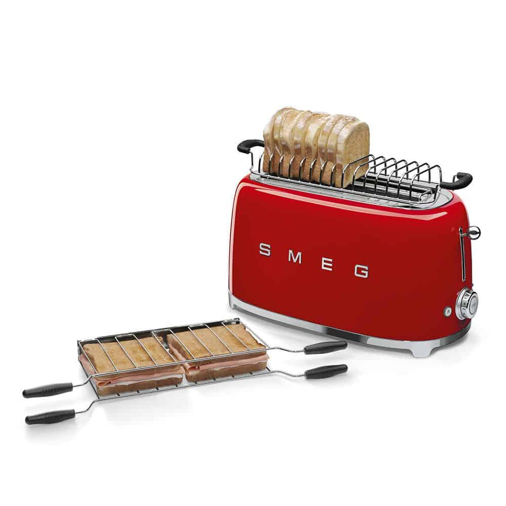 Máy Nướng Bánh Mì SMEG TSF02RDEU