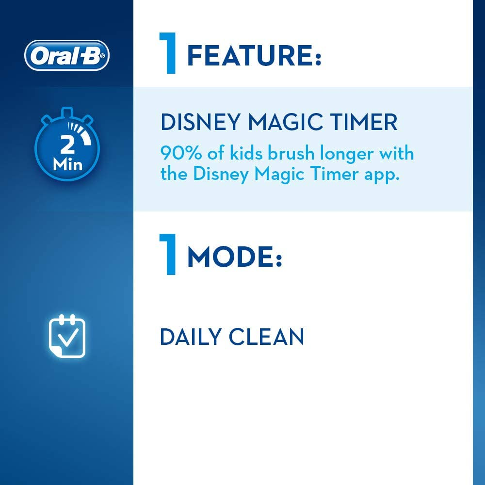 Bàn Chải Điện Oral-B 3757 Braun Pixar Kids Type3