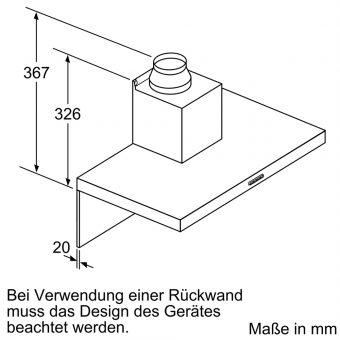 Máy Hút Mùi Treo Tường Bosch DWB96BC50 Series 29