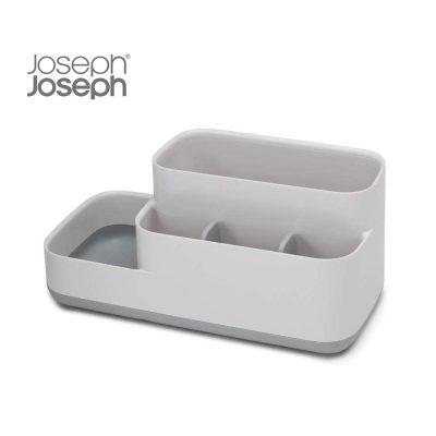 Khay Đựng Bàn Chải Mỹ Phẩm Nhà Tắm Joseph Joseph 70513 EasyStore Trắng Xám