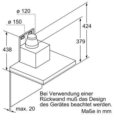 Máy Hút Mùi Treo Tường Bosch DWB97LM50 Series 6