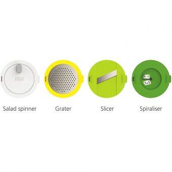 Bộ Dụng Cụ Chế Biến Salat 4 Món Joseph Joseph 20154 Multi-Prep