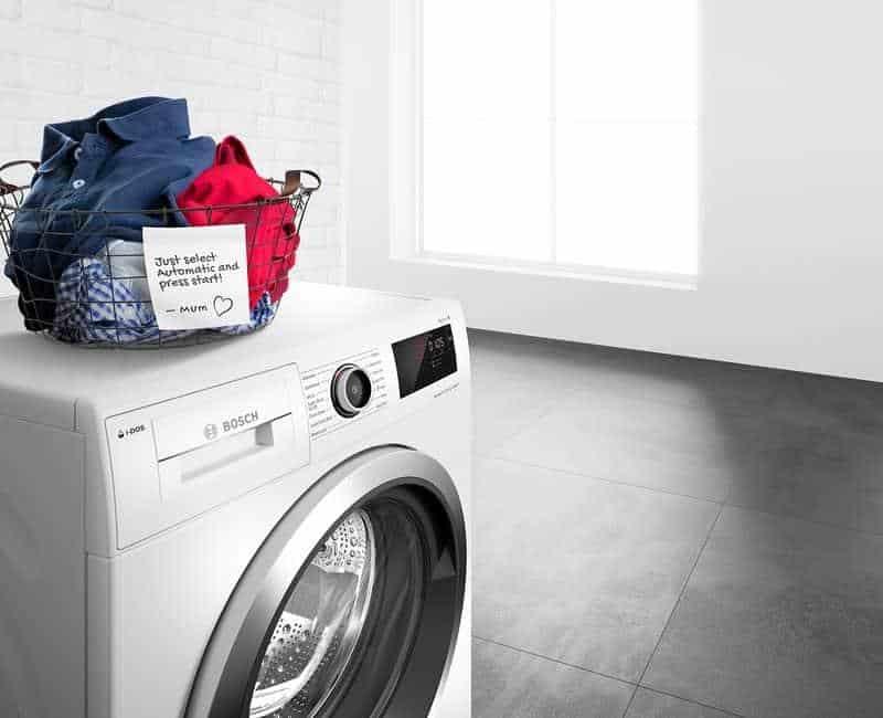 Vì sao nên lựa chọn máy sấy quần áo Bosch?
