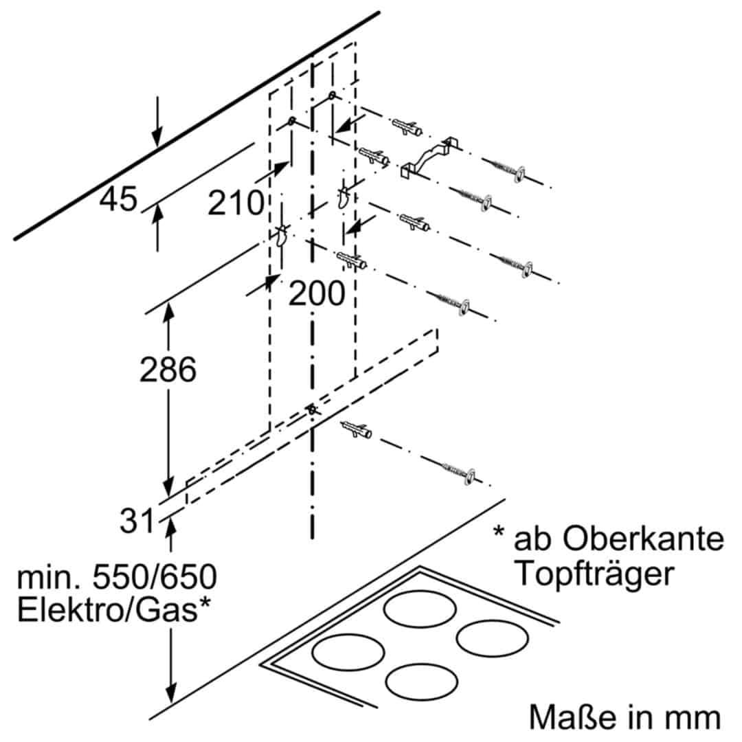 Máy Hút Mùi Treo Tường Bosch DWB67LM50ấsgsdg