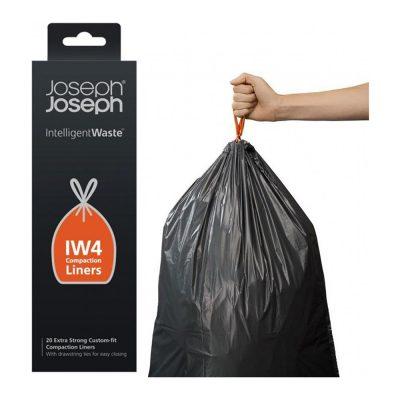 Hộp 20 Túi Đựng Rác 30L Lót Thùng Joseph Joseph IW4 30027