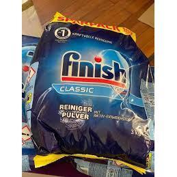 Bột Rửa Chén Bát Finish Classic Reiniger-Pulver 3kg2