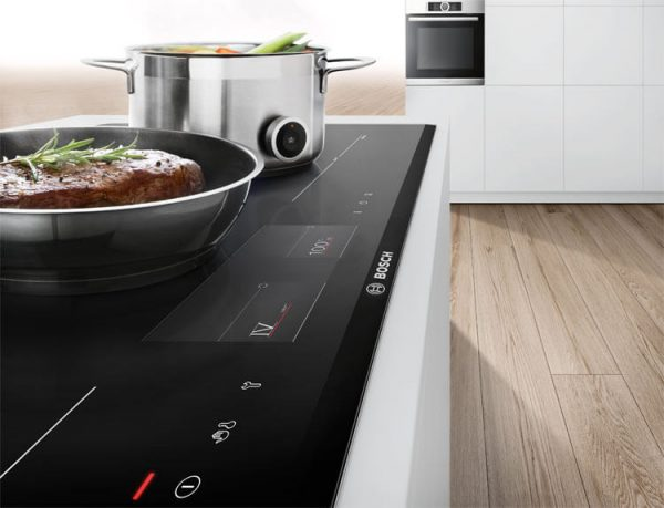Tính năng cảm biến ưu việt của bếp từ bosch