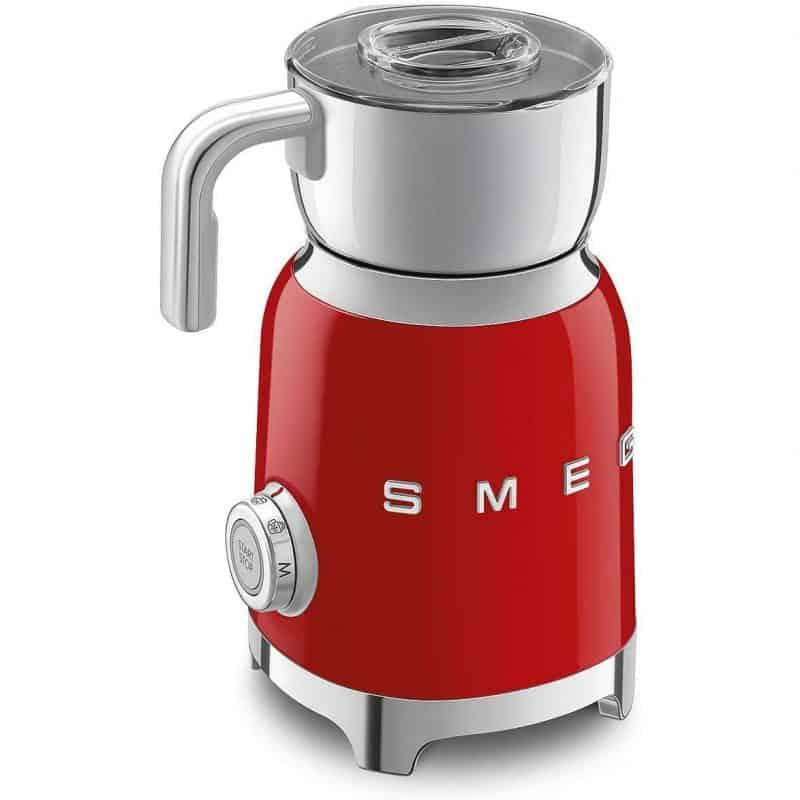 Máy Tạo Bọt Sữa Smeg MFF01RDEU Red 2
