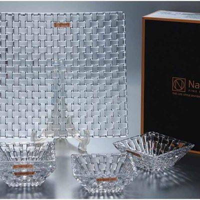 Bộ Đĩa và Khay Đựng Nachtmann 90023 Bossa Nova 5 Món
