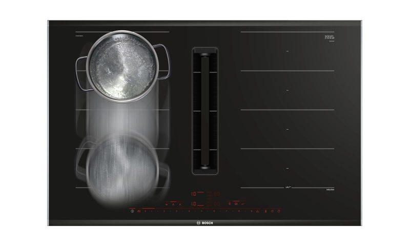 Bếp Từ Đa Điểm Bosch PXY875KW1E Serie 8 Âm Tủ 80cm