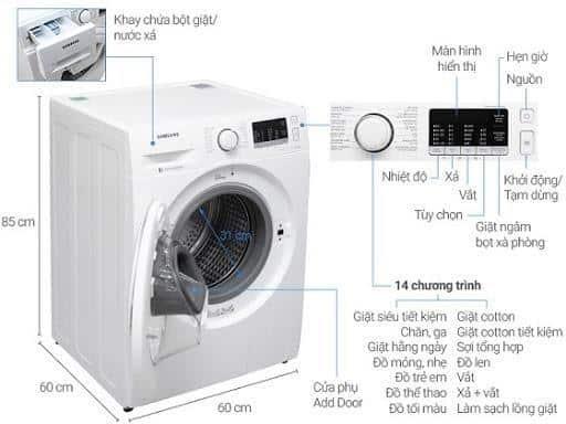 cách vắt khô quần áo bằng máy giặt