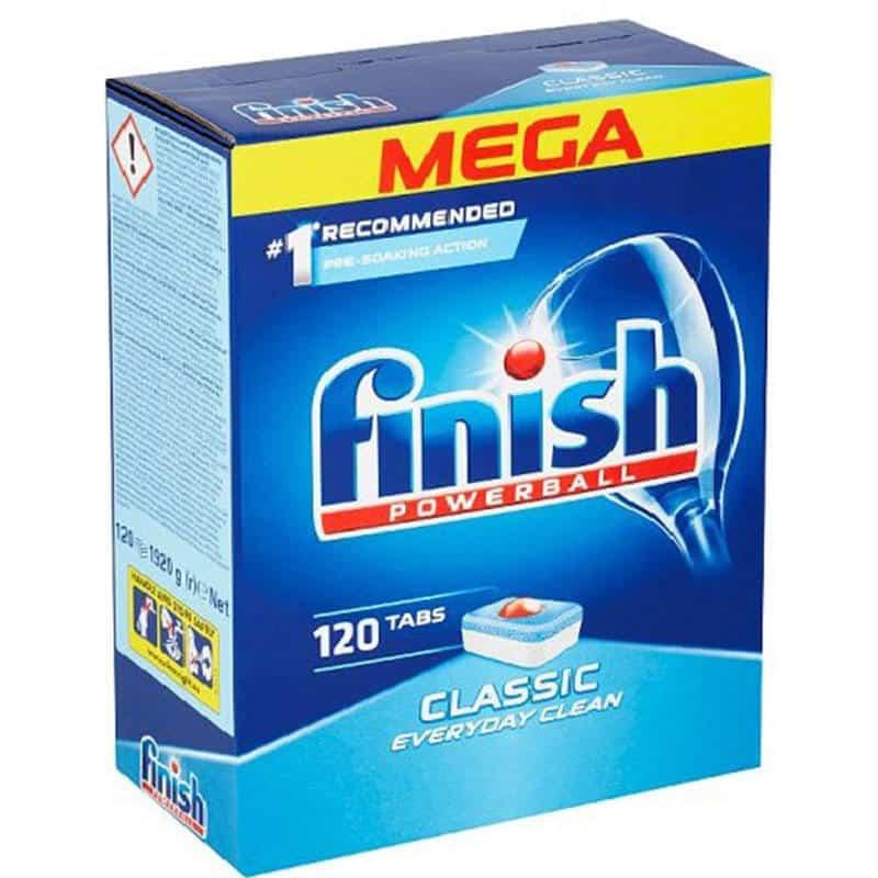 Viên Rửa Bát Finish Powerball Classic 120 Viên