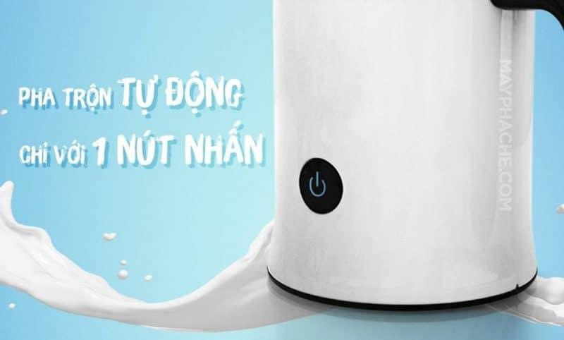 máy tạo bọt sữa cappuccino