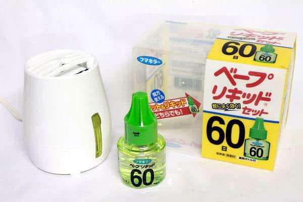 Máy Xông Đuổi Muỗi Nhật Bản 60 Ngày 1