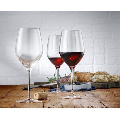 Bộ Ly Rượu Vang Đỏ WMF Easy Plus 6 Món 09.1003.9990