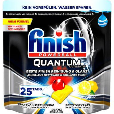 Viên Rửa Bát Finish Quantum Túi 25 Viên