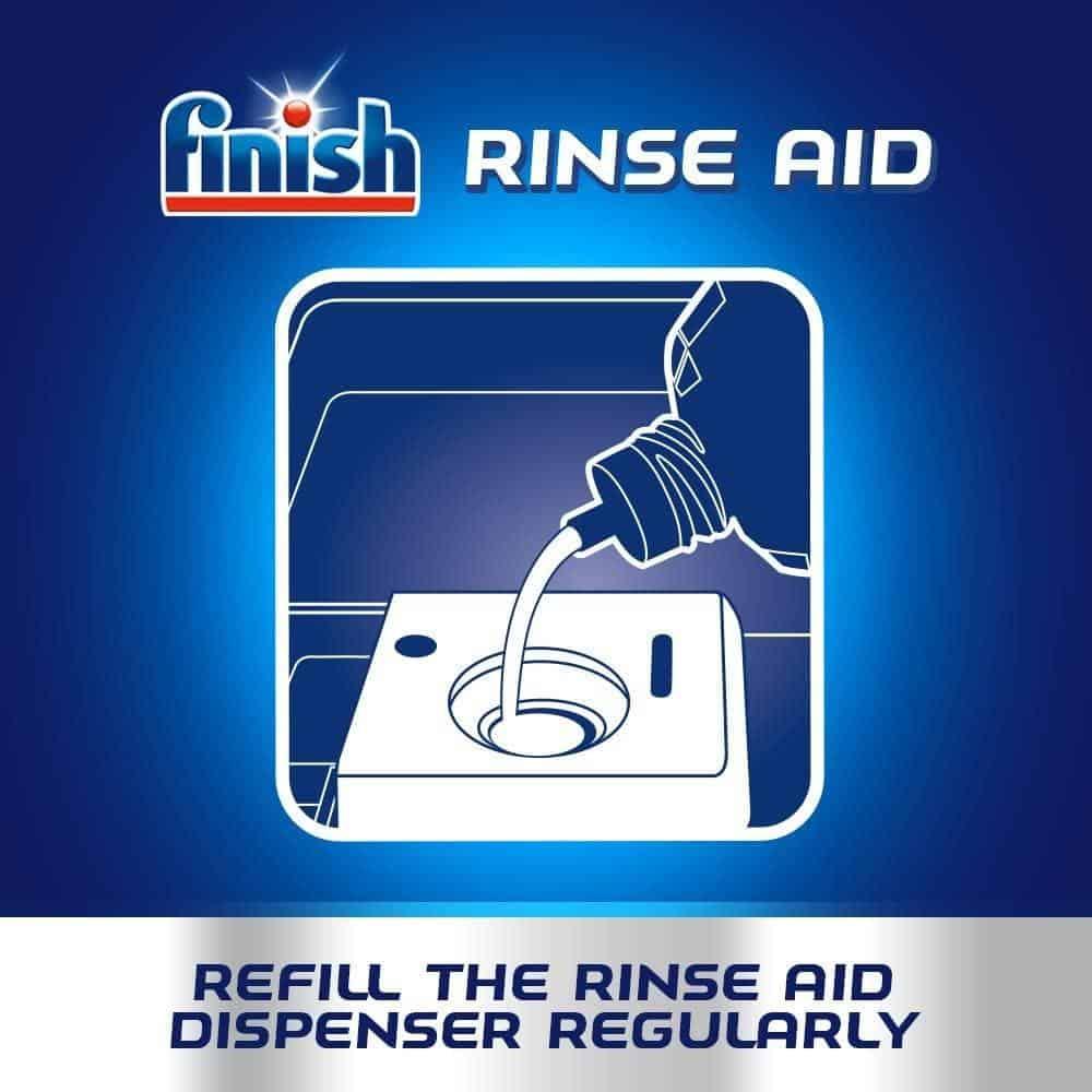 Nước Làm Bóng Finish Rinse Aid 800ml Hương Chanh