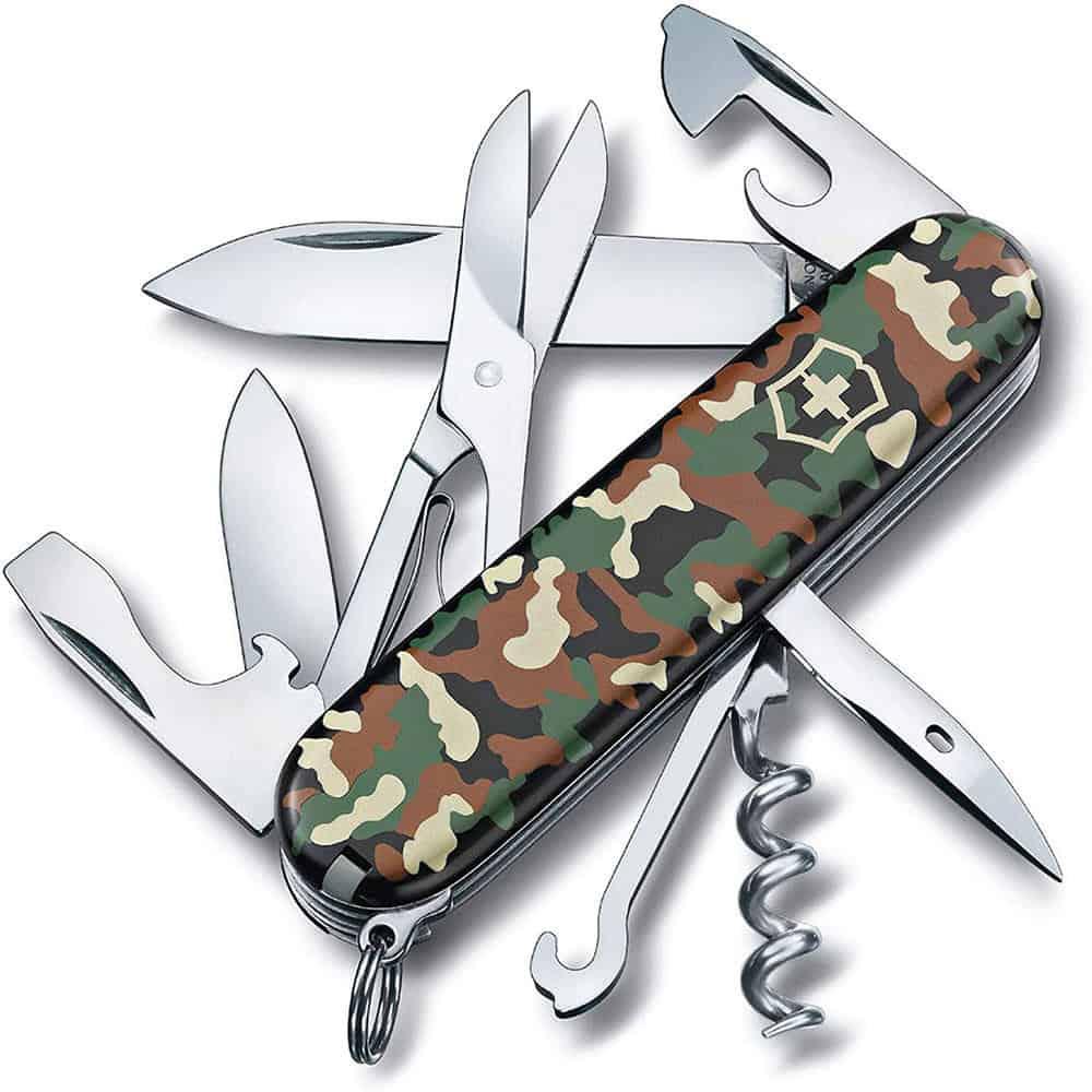 Dụng Cụ Đa Năng Victorinox Climber G/Mimetiche 1.3703.94 - Camouflage