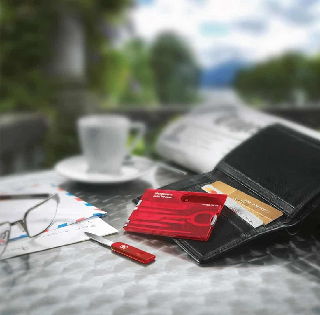 Dụng Cụ Đa Năng Victorinox Swisscard Ruby 0.7100.T