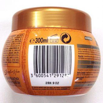Dầu Ủ Tóc Garnier Wahre Schatze Haarkur Argan And Camelia Oil 300ml