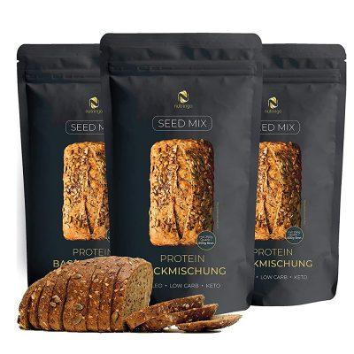 Hỗn Hợp Hạt Nutringo Protein Backmischung Làm Bánh Mì 200g