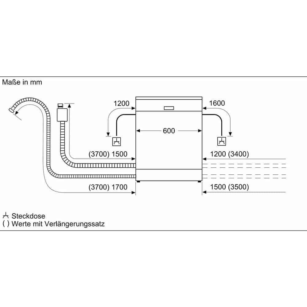 Máy Rửa Chén Bát Bosch SMI68MS02E