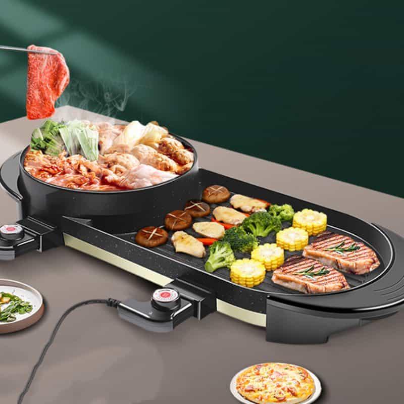 Bếp nướng điện kết hợp lẩu Goldsun- GR- GYC 1600