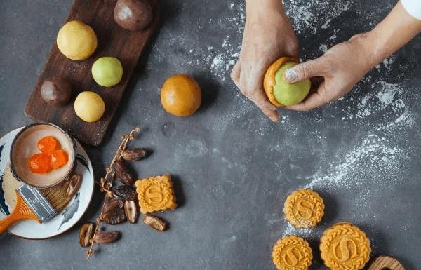 cách làm bánh trung thu nướng