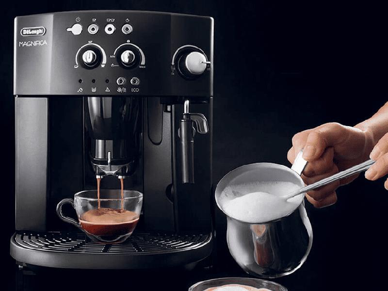 Máy pha cà phê cho ra những ly cà phê ngon đúng chuẩn