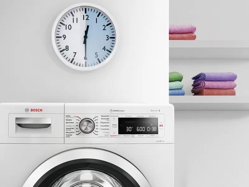 Máy Giặt Cửa Trước Bosch WAV28E42 9kg Series 8 - 7