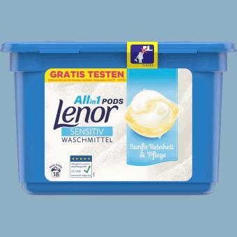 Nước Giặt Quần Áo Dm All-in-1 Lenor Sensitiv Waschmittel