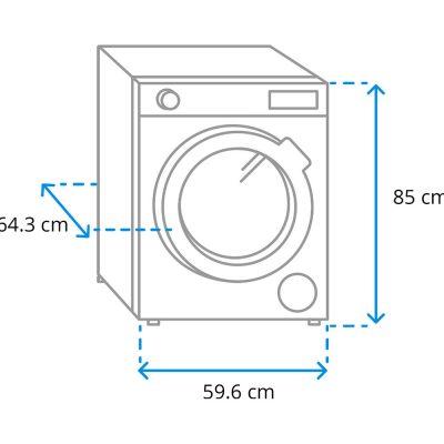 Máy Sấy Quần Áo Heat Pump Miele TWR860 WP 9kg
