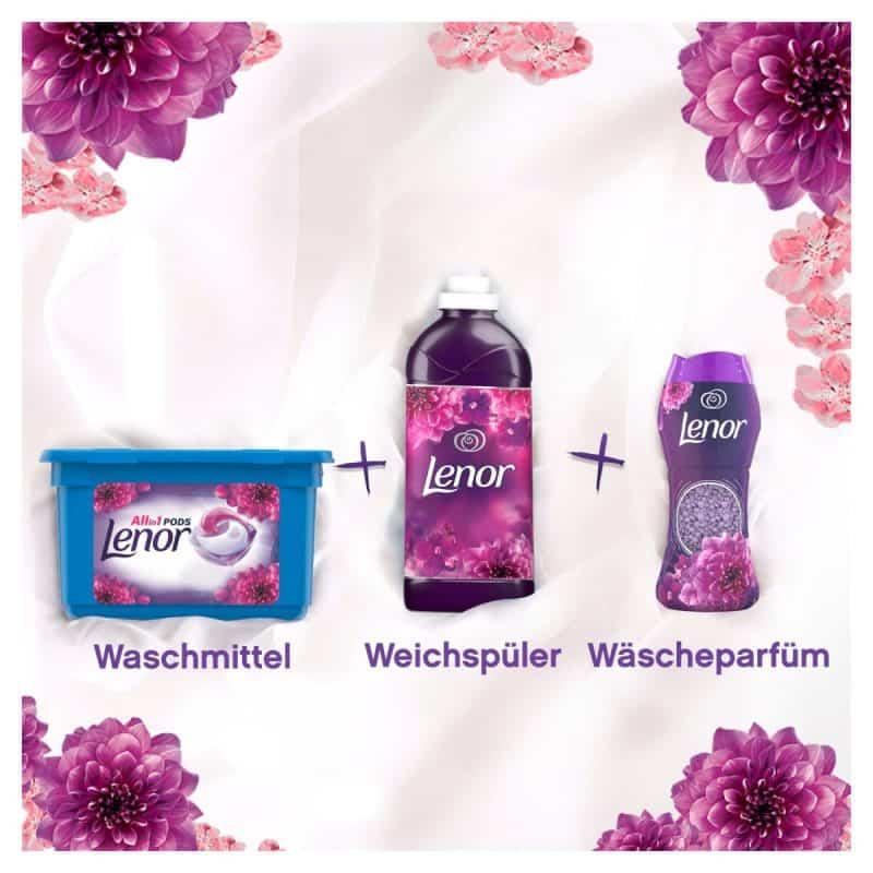 Viên Nước Giặt Quần Áo Màu Dm All-in-1 Color Waschmittel- 18 Viên