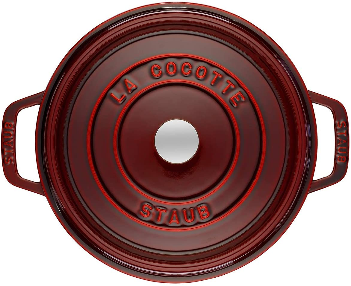 Nồi Gang Staub Round Cocotte Grenadine 40509-357-0 / 24cm - 3,8L