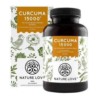 Viên Nang Nghệ Nature Love Curcuma 15000