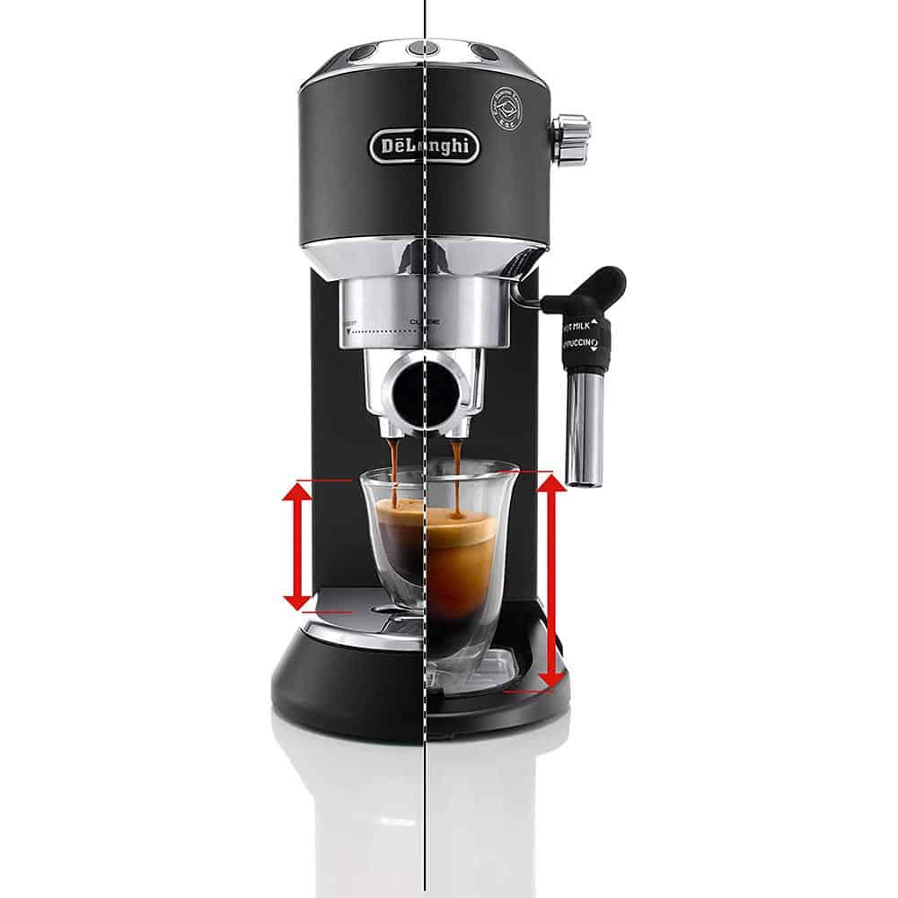 Máy Pha Cà Phê Delonghi Espresso Dedica EC685BK