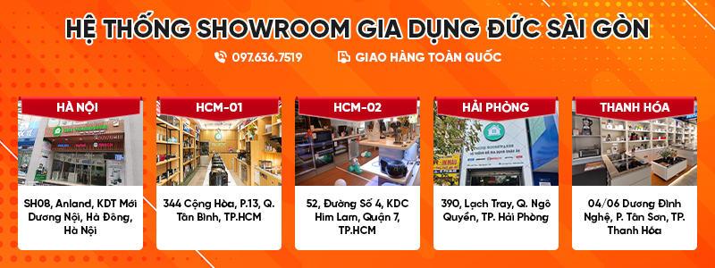 Hệ Thống Showroom Gia Dụng Đức Sài Gòn